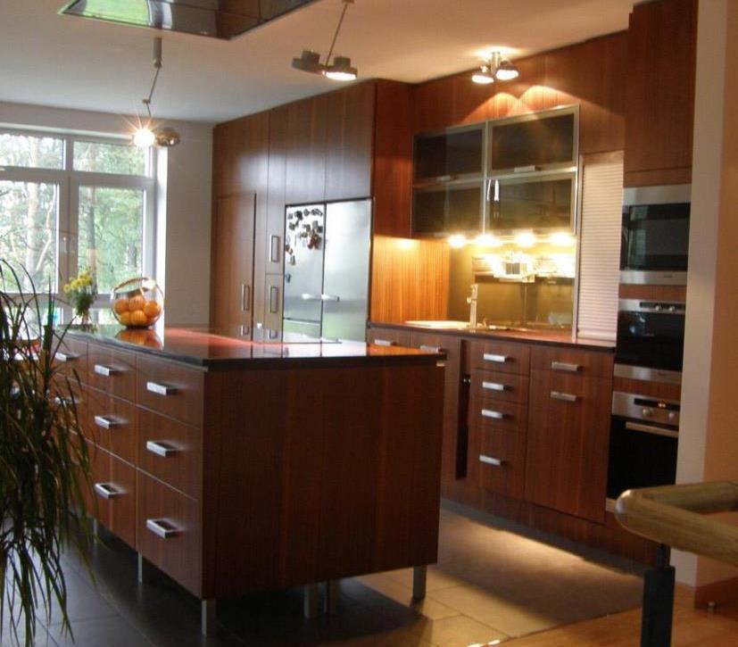 Kjøkken konstruksjon og design