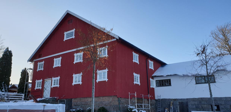 Prosjekt Sundby gård rekonstruering og opppussing